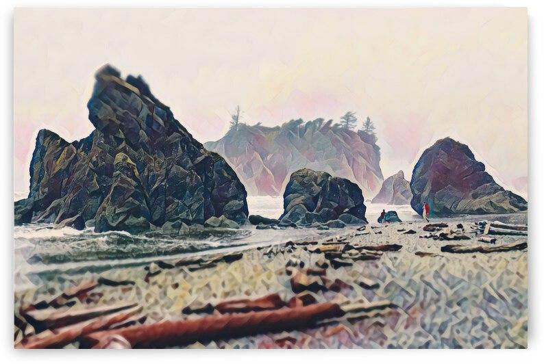 Ruby Beach by Annamadeitt