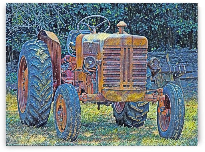 Tractor by Annamadeitt