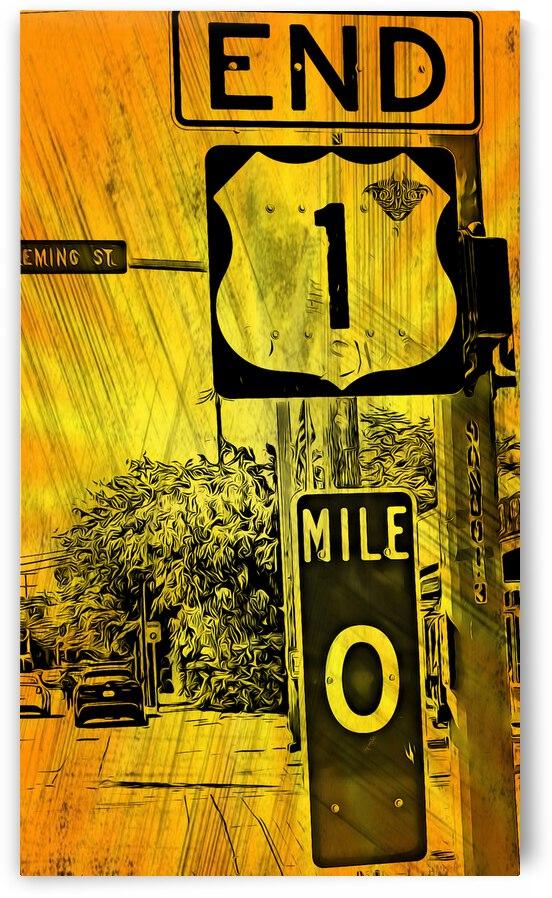 Key West Mile 0 by Annamadeitt