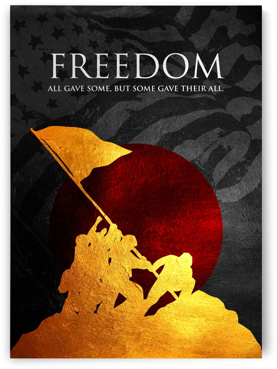 soldiers of independence Motivational Wall Art by ABConcepts