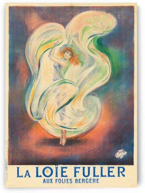Ferdinand Bach French Art Nouveau Lithograph Folies Bergere by VINTAGE POSTER