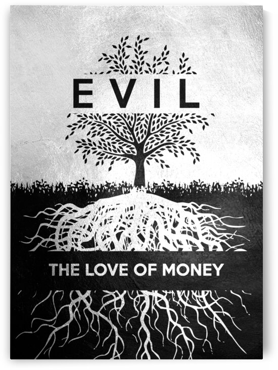 love of money Motivational Wall Art by ABConcepts