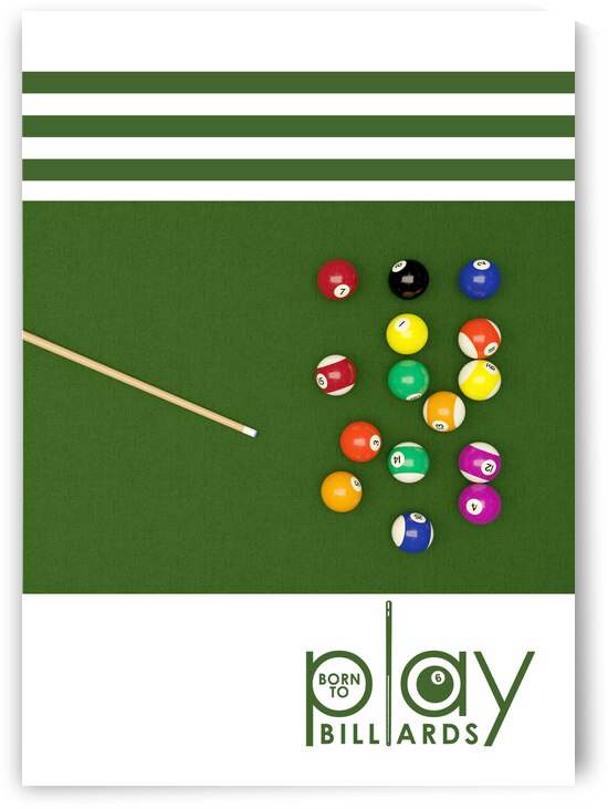 born to play billiards 2 by ABConcepts