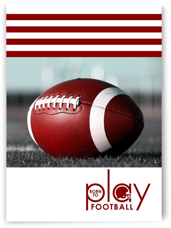 born to play football 2 by ABConcepts