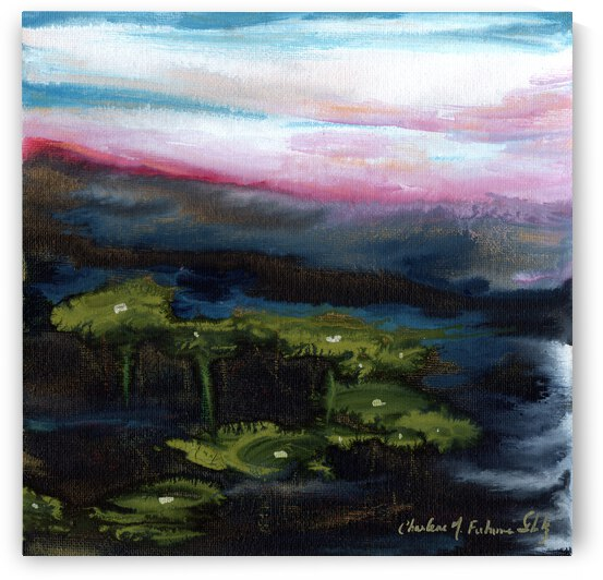 Channeling Monet by Charlene M Fuhrman Schulz