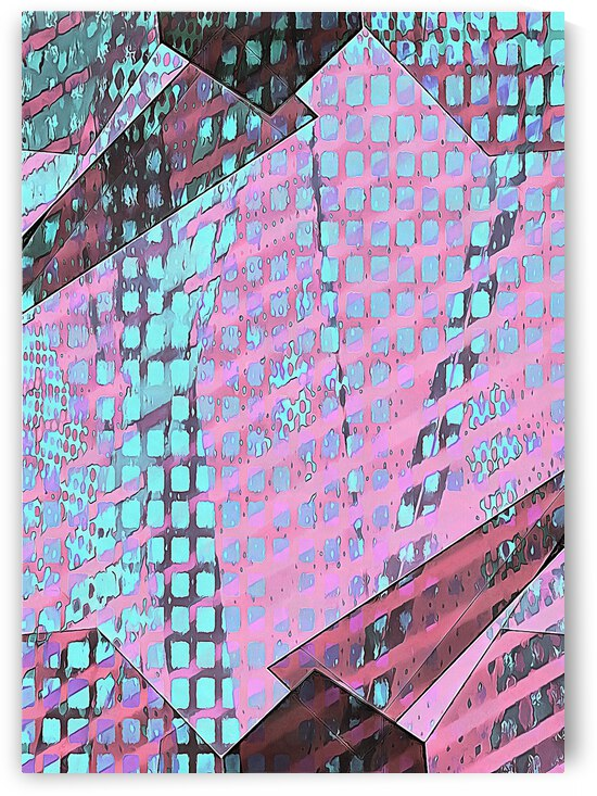 Multicolored Experimental Headache 6 by Dorothy Berry-Lound