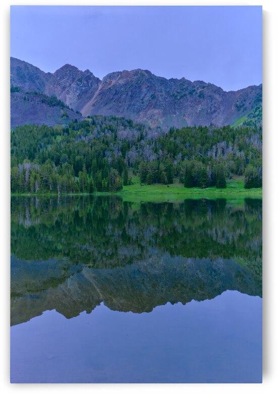 Mountains Mirror by Mezzermite