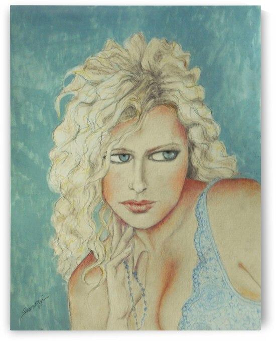 Blond Bombshell No. 2  by Jayne Somogy
