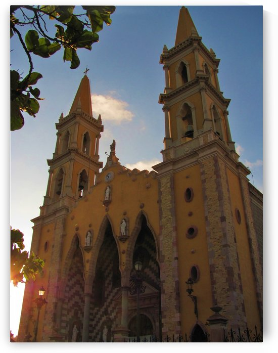 Catedral Basilica de Mazatlan by J  Jasmyn Phillips
