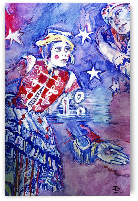Royal Clown Stars  by Lowell Phoenix Devin