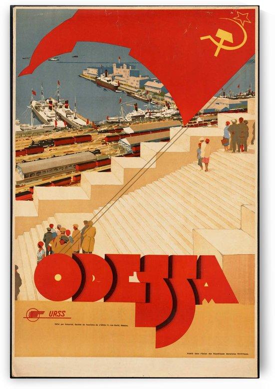 Odessa vintage travel poster by VINTAGE POSTER