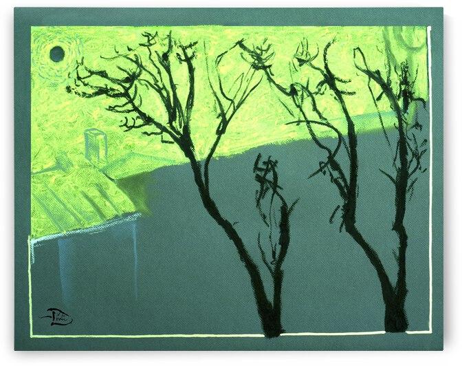 The Ginkgo Trees by Lowell Phoenix Devin
