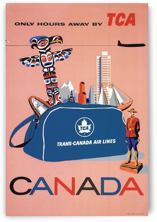 Vintage Toronto travel poster by VINTAGE POSTER