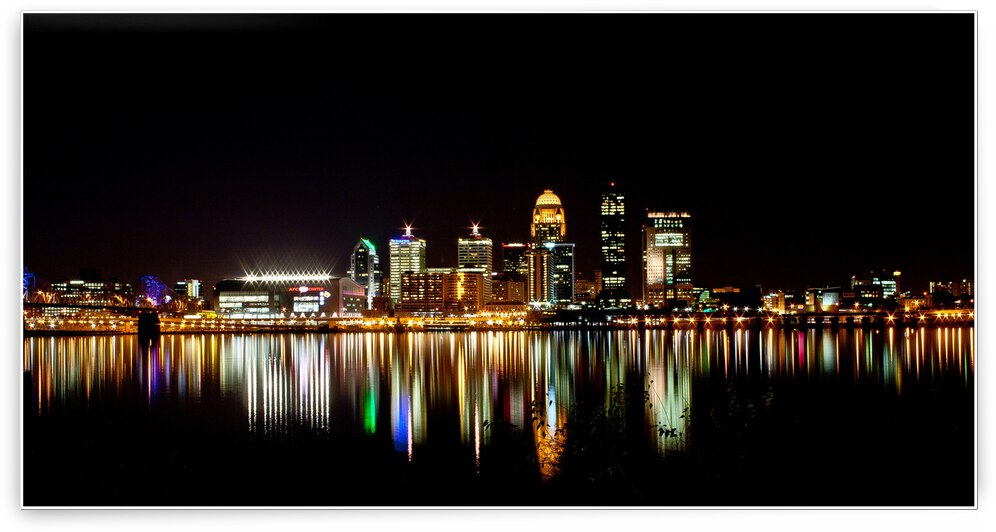Louisville Skyline by Angel Photo Art