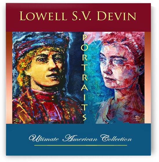 Devin Portraits UAC Show Poster by Lowell Phoenix Devin