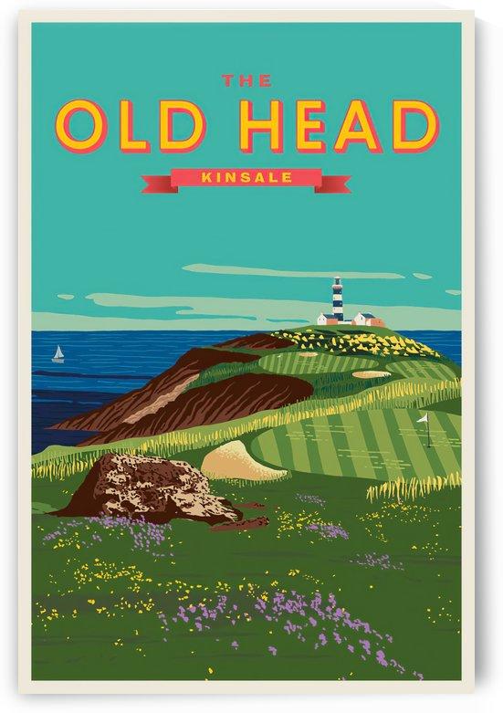 Old Head of Kinsale, Golf Vintage Poster by VINTAGE POSTER