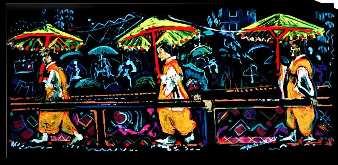 Sumiyoshi Festival  by Lowell Phoenix Devin