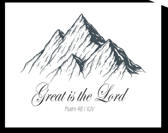 Great is the Lord by Apura