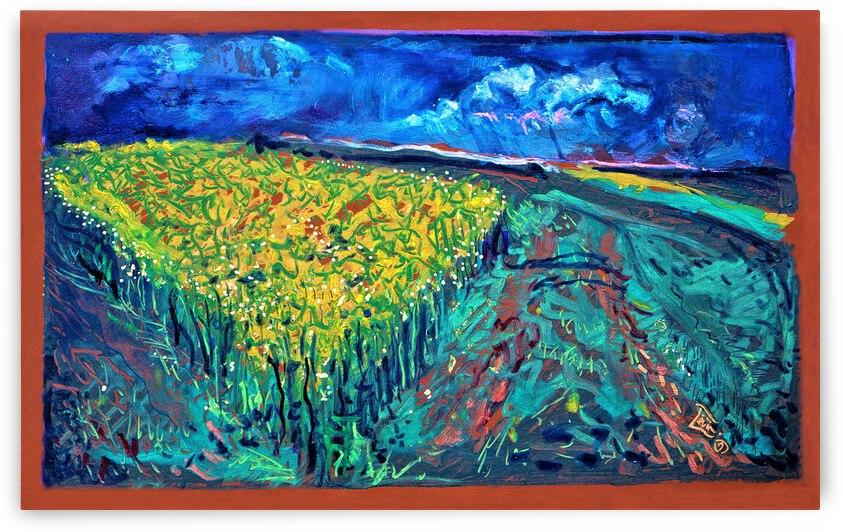 The Mustard Field by Lowell Phoenix Devin