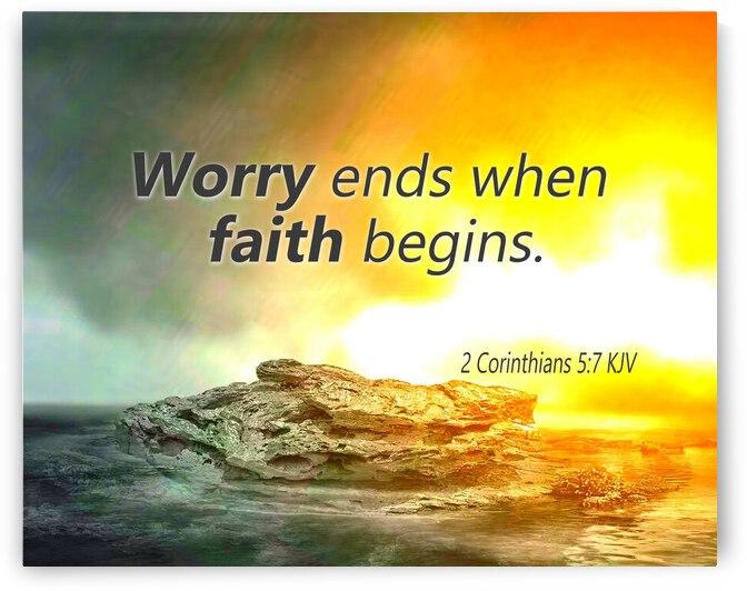 Worry and Faith by Apura