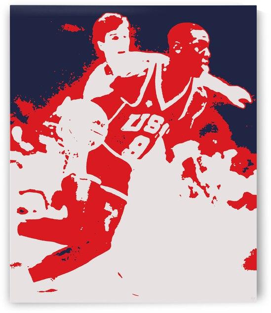 1984 Michael Jordan Pop Art   Row 1 by Row One Brand