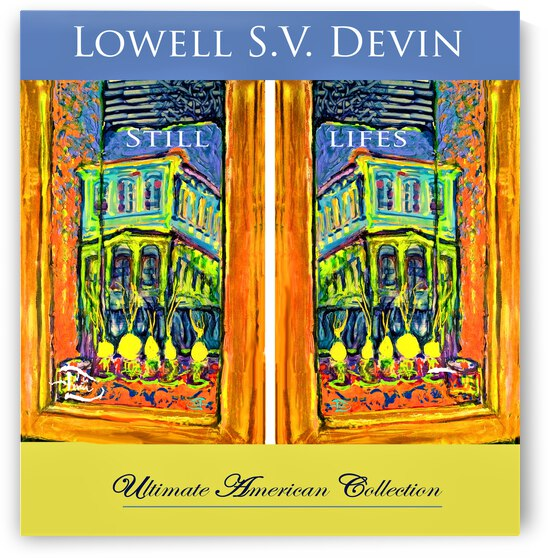 Devin Still Life Museum Poster by Lowell Phoenix Devin