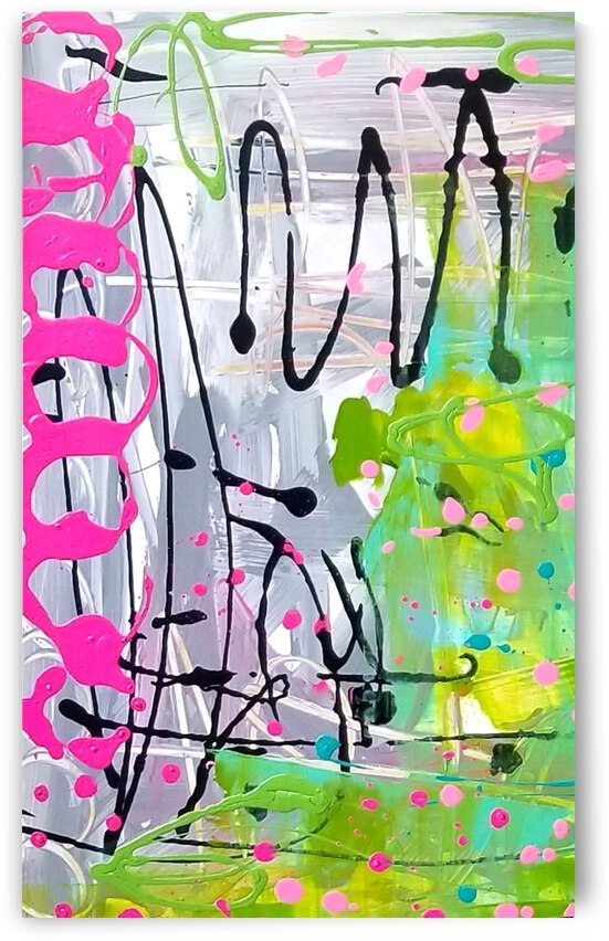 Abstract untitled by Ann Davis Art
