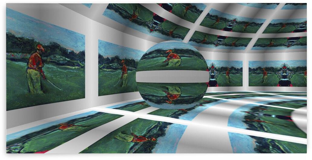 Fairway RoomXpander tm Mural by Lowell Phoenix Devin