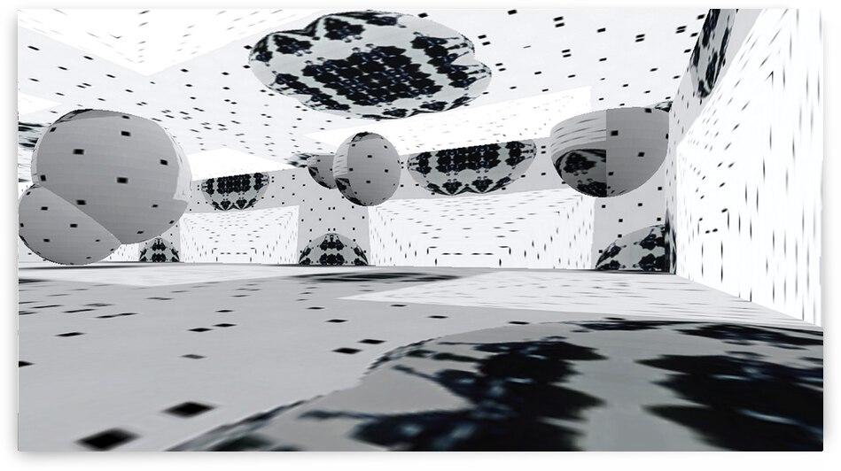 Chamber Jazz Parking-Garage Look RoomXpander tm Mural   by Lowell Phoenix Devin