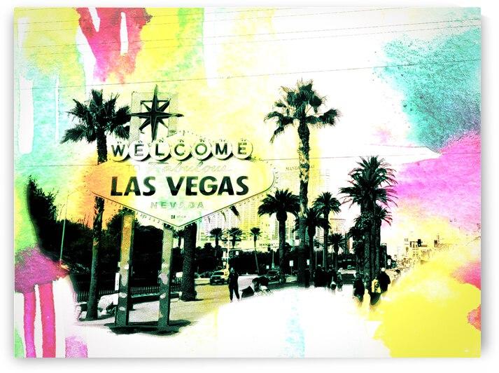 Las Vegas multicolor  by Johnnyphotofreak