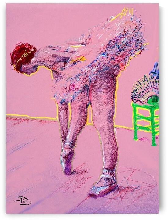 Pink Study West by Lowell Phoenix Devin