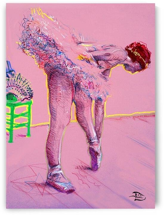 Pink Study East by Lowell Phoenix Devin