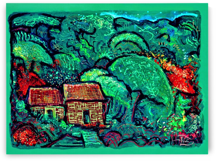 Gingerbread Forest  by Lowell Phoenix Devin