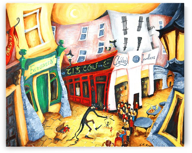 Puppeter at The Shop Street Galway by Druid Gallery