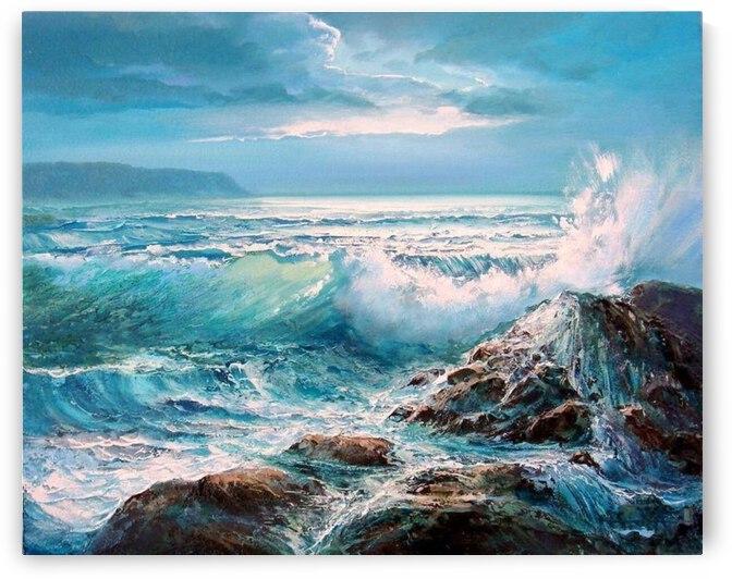 Wild Sea by Yitzy Rosengarten