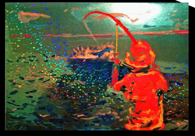 Star Spangled Catch  by Lowell Phoenix Devin