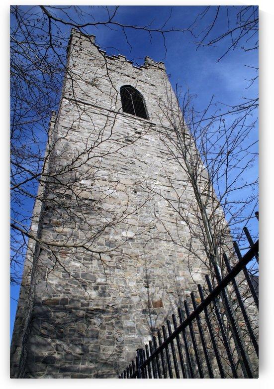 Tower of St. Audoen's Church, Dublin, Ireland by Tara K