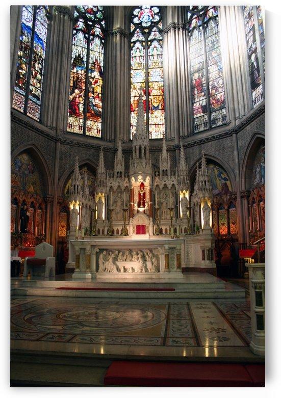 Shrine of the Sacred Heart, John's Lane Church, Dublin, Ireland by Tara K