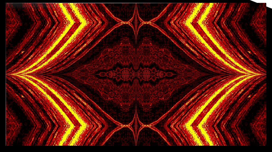 Aztec Sun Fire 1 by Sherrie Larch