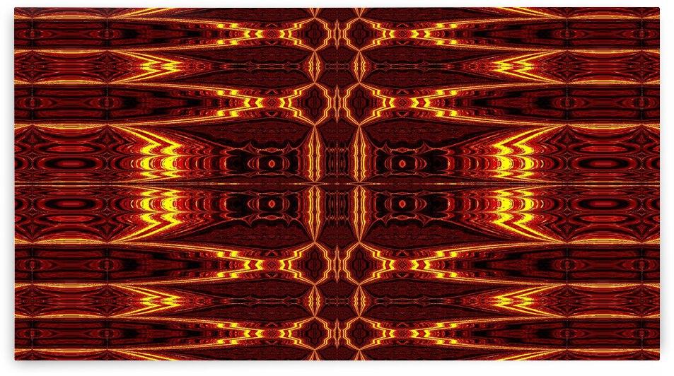 Aztec Sun Fire 10 by Sherrie Larch