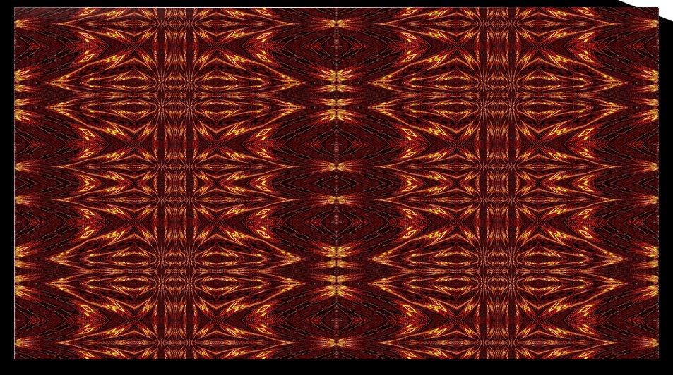 Aztec Sun Fire 11 by Sherrie Larch