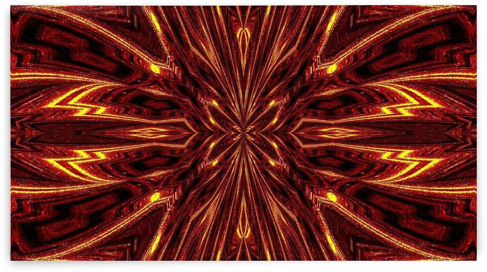 Aztec Sun Fire 13 by Sherrie Larch