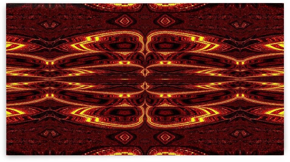 Aztec Sun Fire 15 by Sherrie Larch