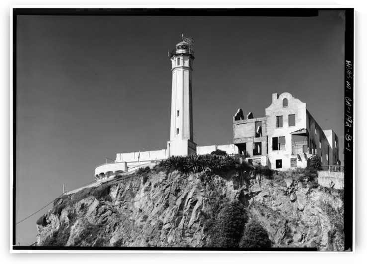 Alcatraz Lighthouse, California by Stock Photography
