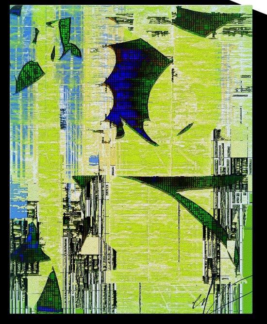 Loose Fittings & Digital Debris  by Ed Purchla