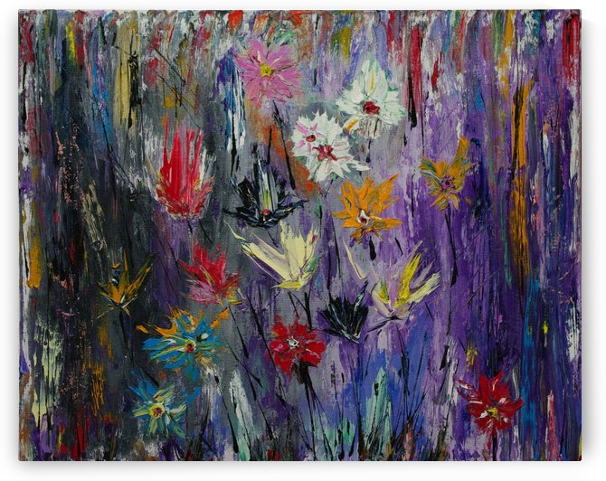 What a joy to gather flowers in September by Vetrof Alik