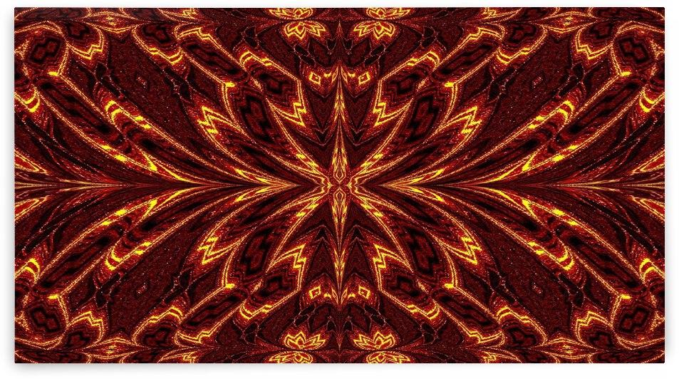 Aztec Sun Fire 28 by Sherrie Larch