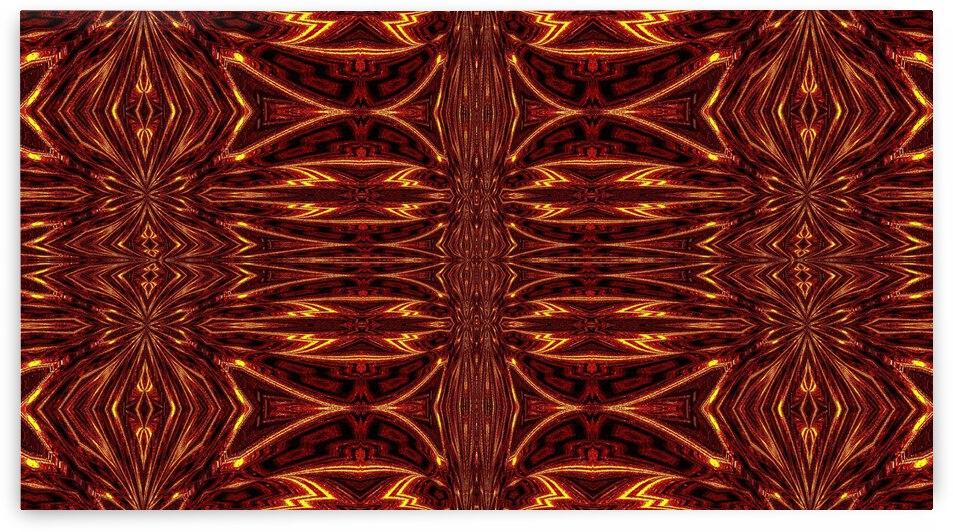 Aztec Sun Fire 34 by Sherrie Larch