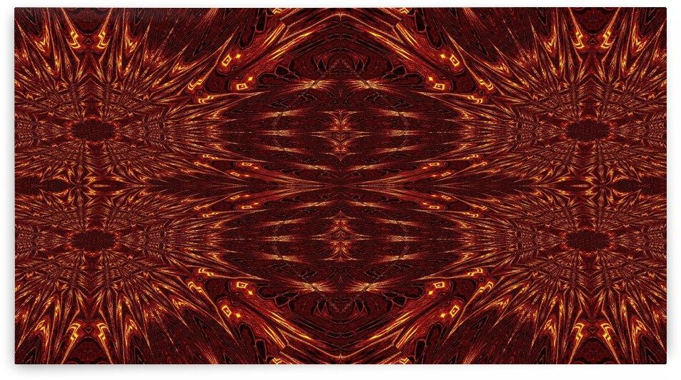 Aztec Sun Fire 38 by Sherrie Larch