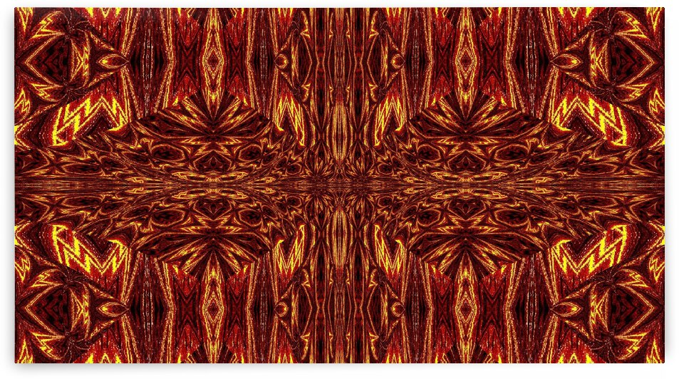 Aztec Sun Fire 39 by Sherrie Larch